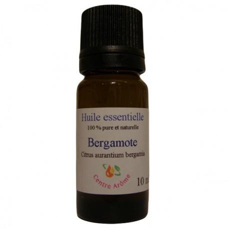Flacon d'huile essentielle de Bergamote 10ml